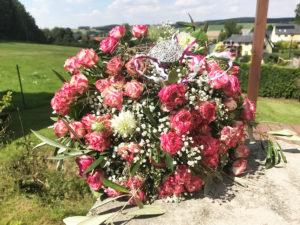 Blumenladen Olbernhau Blumenstrauß mit Rosen