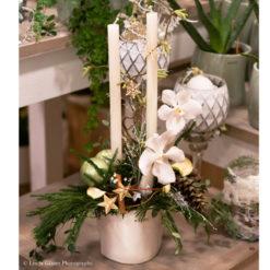 Adventsgesteck aus der Blüten-Küche - Ihr Blumenladen für Olbernhau & Umgebung